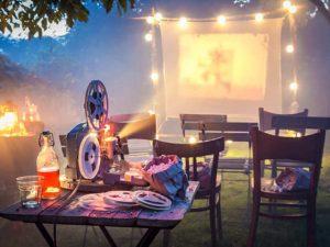 Letní kino – romantika pod širým nebem